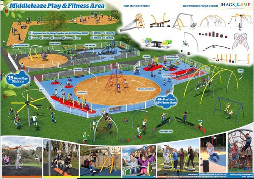 Middleleaze Play and Fitness Upgrade