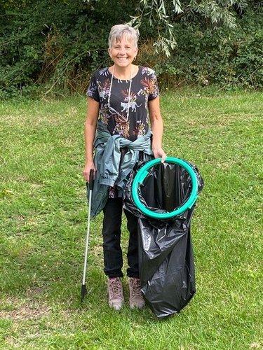 Mandy Volunteer of the month